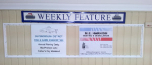 Sponsors of the week of Feb. 3-9 are Guysborough Fish & Game and ME Harnish Heating & Ventilation