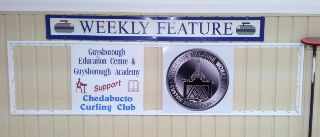 Sponsors for the week of Nov. 24-20 are Guysborough Education Centre & Guysborough Academy and Mulgrave Machine Works.