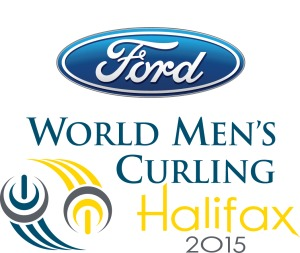 2015 World Men's Curling Halifax logo