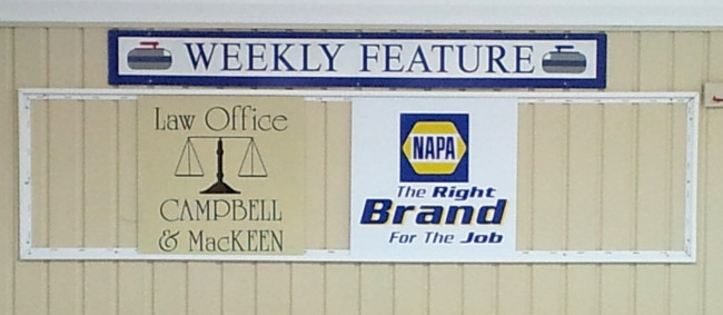 Our featured sponsors are Campbell & MacKeen and NAPA (Antigonish)