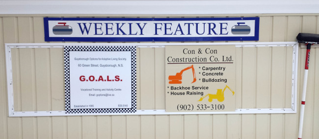 Featured sponsors of the week: Con & Con Construction Ltd. and GOALS