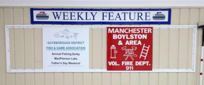 Featured sponsors for the week of Mar. 9-15 are Guysborough Fish & Game and the Milfred Haven Fire & Emergency.