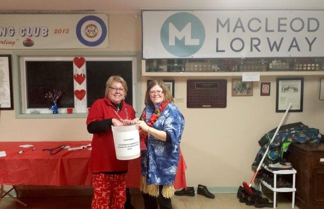 50/50 draw from Feb 13th. Ticket was drawn by Della Myette with help from Mary Williams.