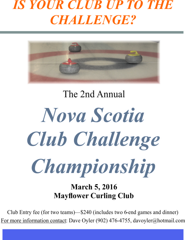 Poster for NS Club Championship 2016