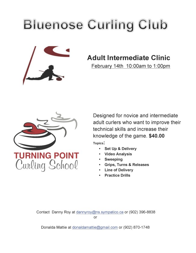 Poster for Adult Intermediate Clinic