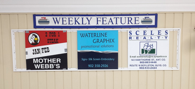 Our featured weekly sponsors of the week for Feb 15-19 are Mother Webb's, Waterline Graphix, and Sceles Realty.