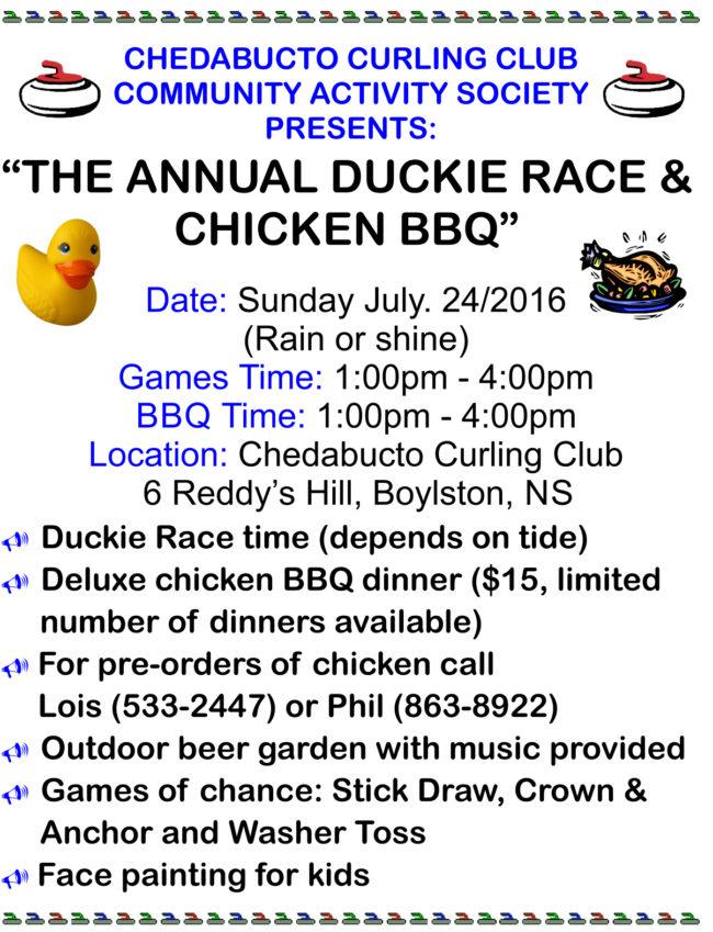 Ducky Race poster